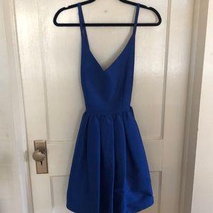 Royal Blue Strappy Dress